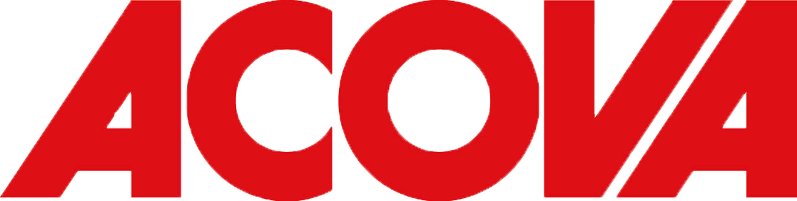 Acova logo CMYK_red