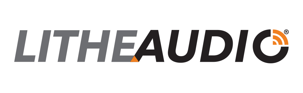 Lithe Audio Logo on White